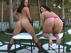 WARNING THIS VIDEO CONTAINS AN IMMENSE AMOUNT OF BIG ASS!!! Gracie Glam is back and she brought her friend Emma Heart to get real fucking nasty for our entertainment.