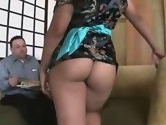 Big asses asian spot
