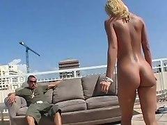 Ass in the sun with Jada Stevens