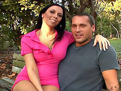 Rachel Starr is on the island secluded to show off her ass. And what a marvelous ass it is. Its bouncy, and firm, and she knows how to wiggle it.