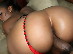 Slutty Ms Juicy wants every inch of huge black cock