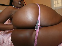 Slutty Beauty Dior wants every inch of huge black cock