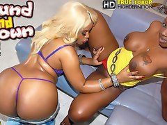 2 amazing hot fucking stacked big ass ebony babes get drilled againt the couch in these hot 3some pussy licking cock sucking cumfaced fucking 3ome pics and BIG 3 min movie