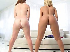 Nicole Aniston and Poison Ivy. Both of these big booty babes love them some cock.