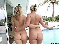 Big bums -  We brought in Alexis Texas and Phoenix Marie for some major ass pounding