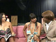 phat jumbo ; Bubble butt Ebony Spice and Carmen Hayes in the Maurice show.