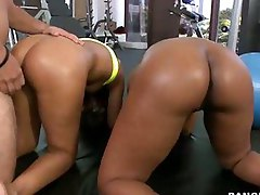 Bubble Huge ass -  we got Jessica Dawn, Julissa James running around shaking there big asses