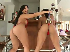 Imani Rose and  Rose - Hottest bubble butts -  I promise you'll love watching these two big asses get there pussies stuffed full of cock
