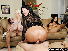 Marissa, Bella Reese, Valerie Kay - Three Enormous Asses Get Pounded