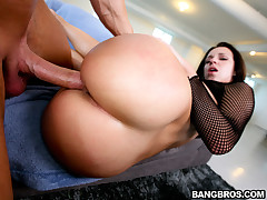 On this week update of Ass Parade, we brought in the matter of this fine young infant named Jada Stevens together with let me tell you, she's got a fine huge ass! My attractive lord, this is one white latitudinarian who is packing a whole lot of Aggravati
