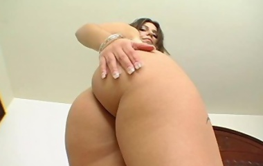 Nice, round and thick ass